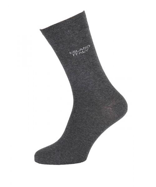 MILANO ITALY Socken im Doppelpack, anthrazit