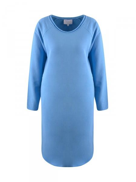 ELISA & ME Damen Sweatshirtkleid, blau