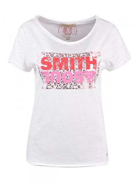 SMITH & SOUL Damen T-Shirt, weiß