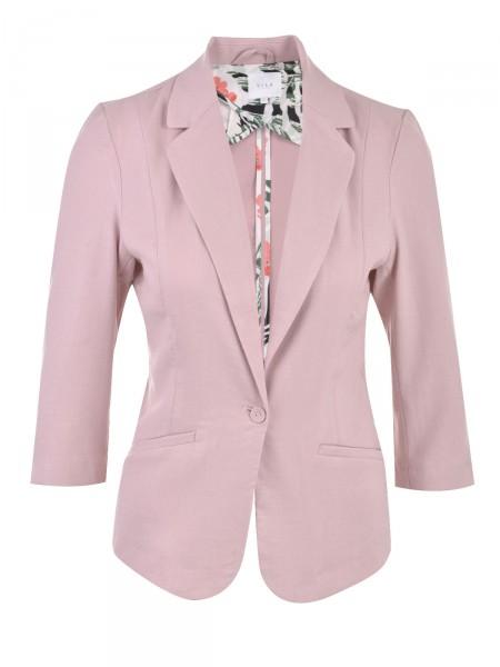 VILA Damen Blazer, rosa