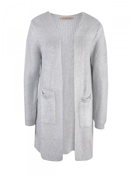 SMITH & SOUL Damen Cardigan, silber