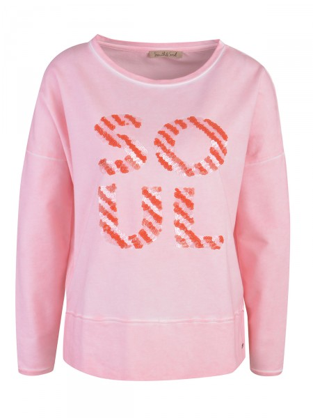 SMITH & SOUL Damen Sweatshirt, rosa
