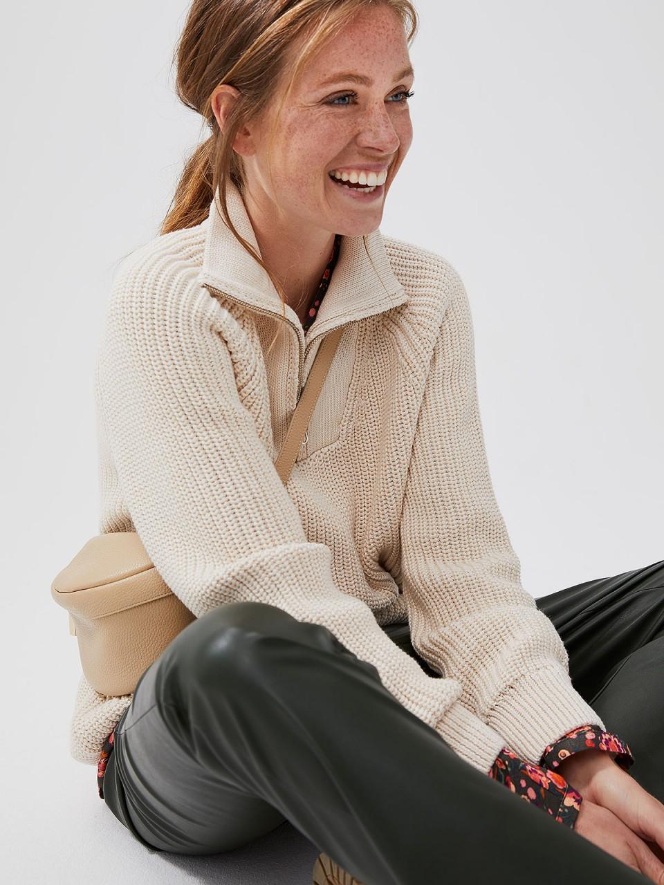 Oberteile - SMITH SOUL Damen Strickpullover, creme  - Onlineshop Designermode.com