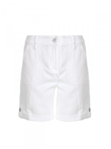 MILANO ITALY Damen Shorts, weiß