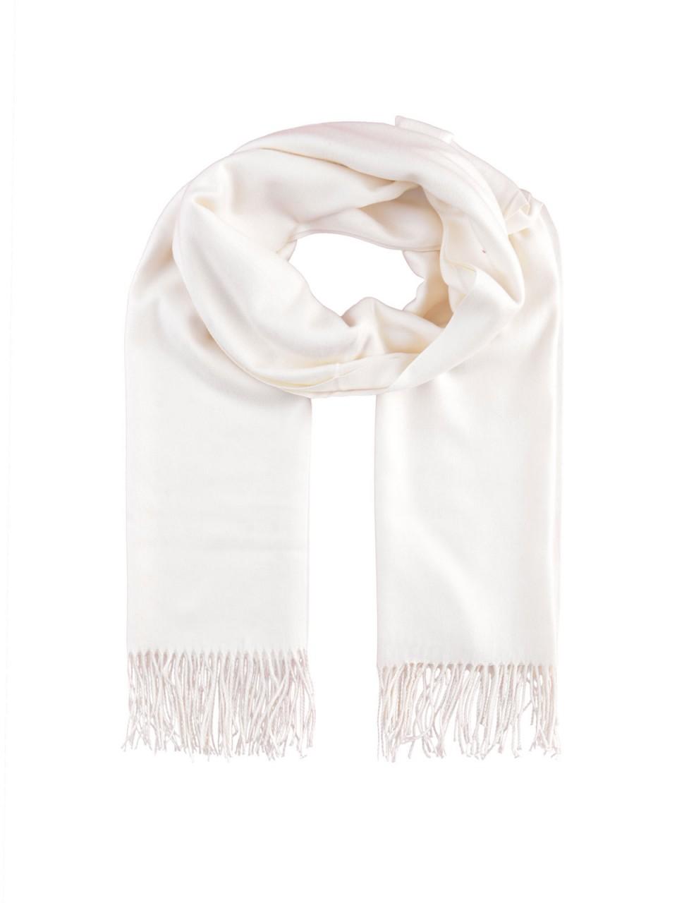Schals - MILANO ITALY Damen Schal, weiß  - Onlineshop Designermode.com