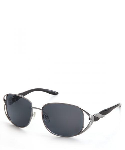 CINQUE Damen Sonnenbrille, schwarz-silber
