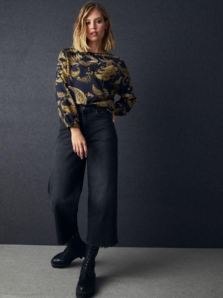 SMITH & SOUL Damen Jeanshose, schwarz