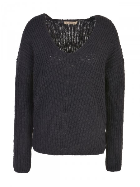 SMITH & SOUL Damen Strickpullover, schwarz