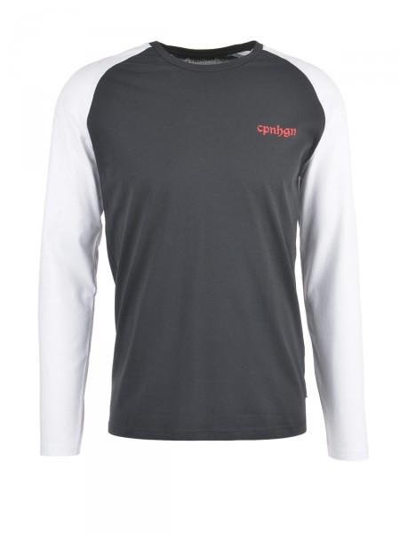 JACK & JONES Herren Shirt, schwarz-weiß