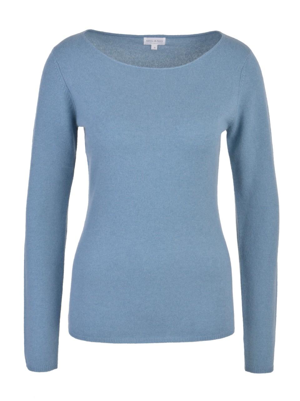 milano-italy-damen-kaschmir-pullover-grau-blau