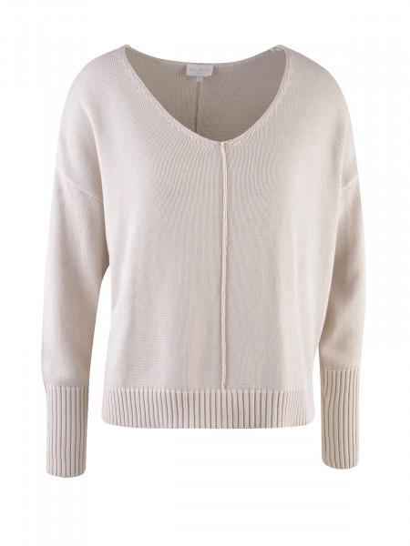 MILANO ITALY Damen Pullover, beige
