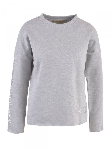 SMITH & SOUL Damen Sweatshirt, grau