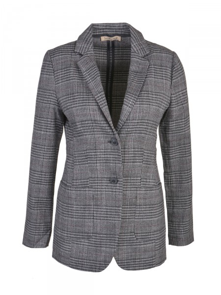 SMITH & SOUL Damen Blazer, grau