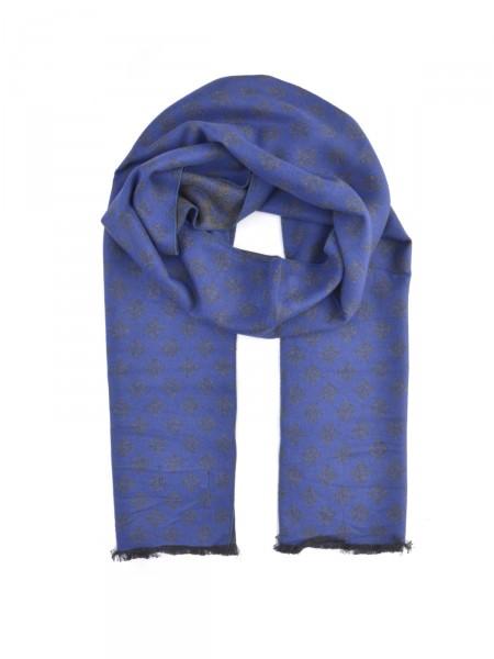 MILANO ITALY Herren Schal, blau