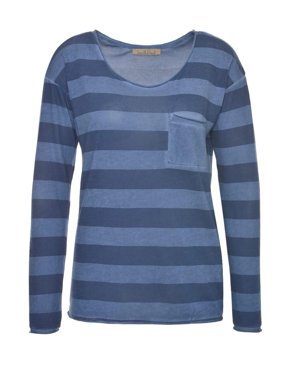 smith-amp-soul-damen-pullover-blau