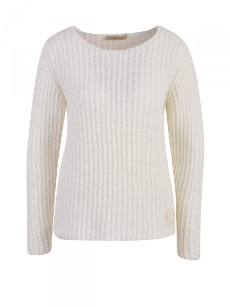 SMITH & SOUL Damen Pullover, creme