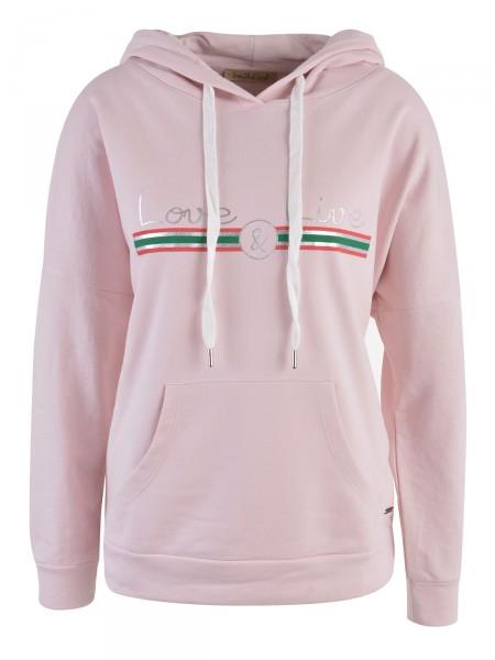 SMITH & SOUL Damen Kapuzensweatshirt, rosa