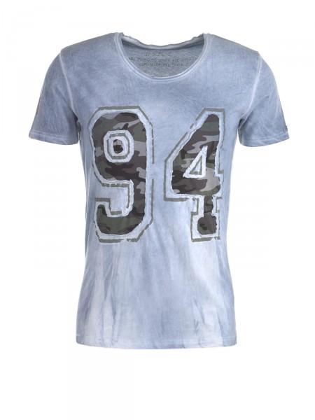 KEY LARGO Herren T-Shirt, blau