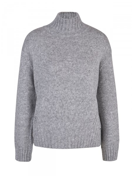 SMITH & SOUL Damen Strickpullover, grau