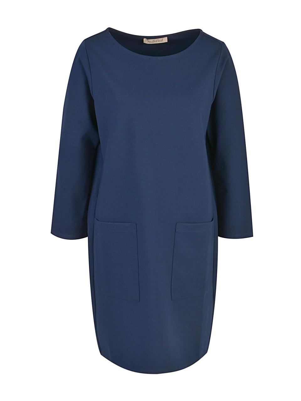 Kleider - SMITH SOUL Damen Kleid, marine  - Onlineshop Designermode.com