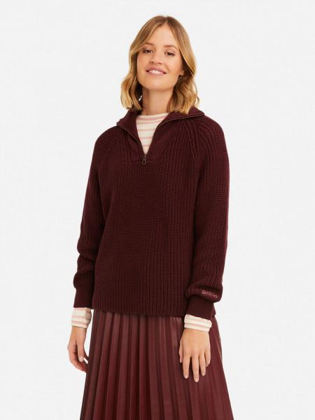 SMITH & SOUL Damen Pullover, bordeaux