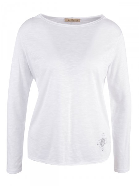 SMITH & SOUL Damen Shirt, weiß