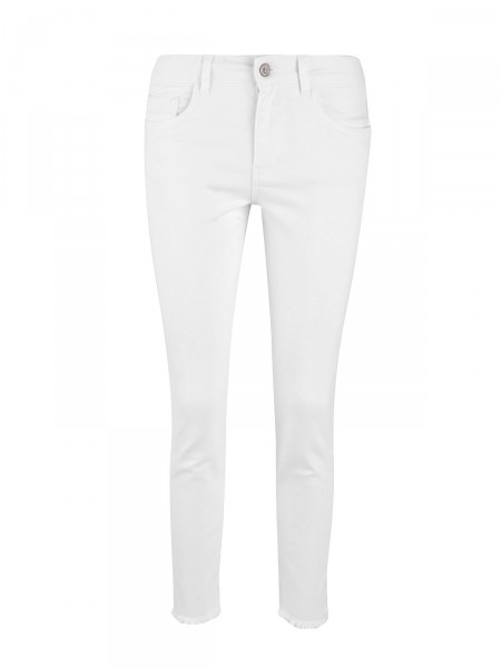 SMITH & SOUL Damen Jeans, weiß