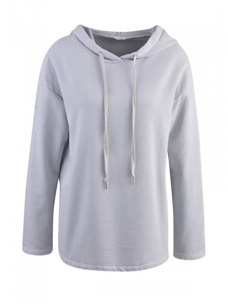 HEARTKISS Damen Sweatshirt, graublau