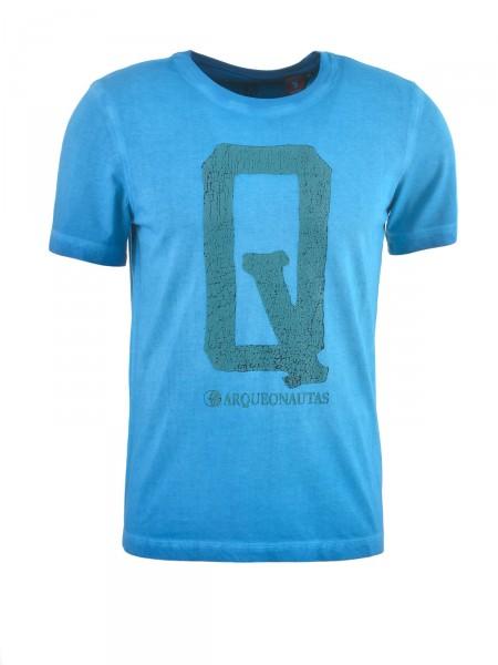 ARQUEONAUTAS Herren T-Shirt, blau