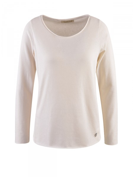 SMITH & SOUL Damen Langarmshirt, beige