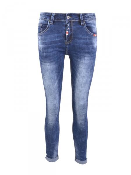 """HEARTKISS Damen Jeans """"8127"""", blau"""