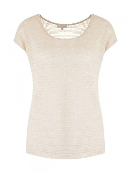 MILANO ITALY Damen T-Shirt, beige