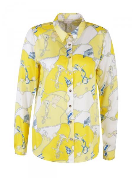 MILANO ITALY Damen Bluse, gelb