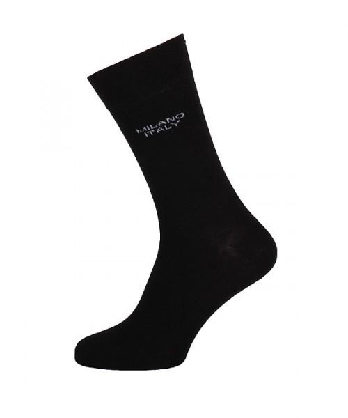 MILANO ITALY Socken im Doppelpack, schwarz