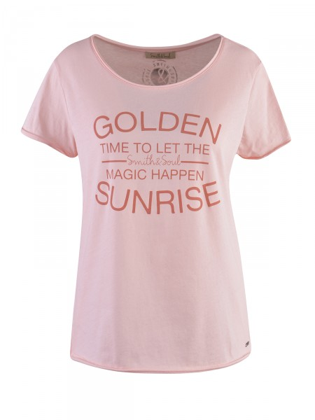 SMITH & SOUL Damen T-Shirt, apricot