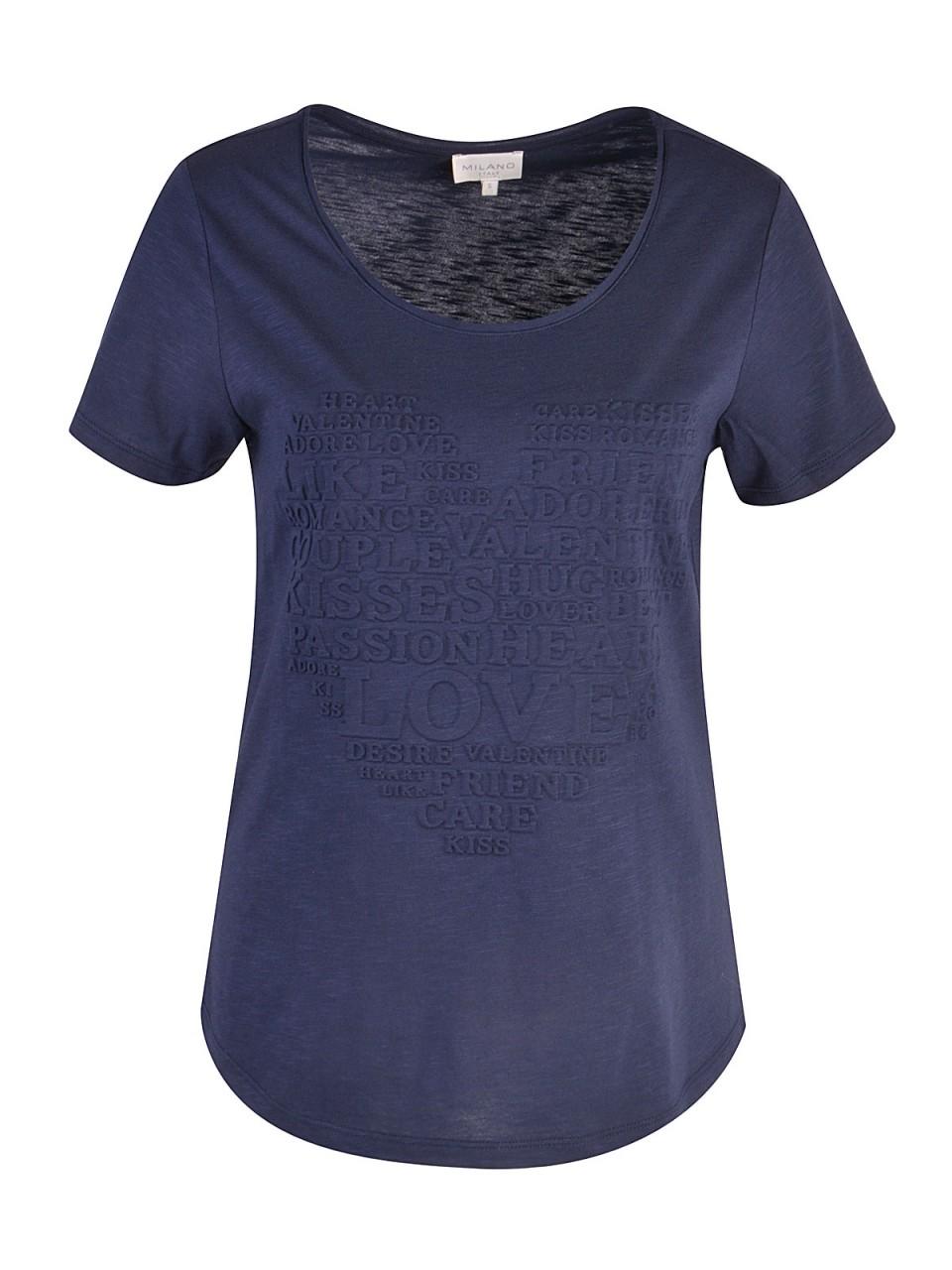 milano-italy-damen-t-shirt-dunkelblau