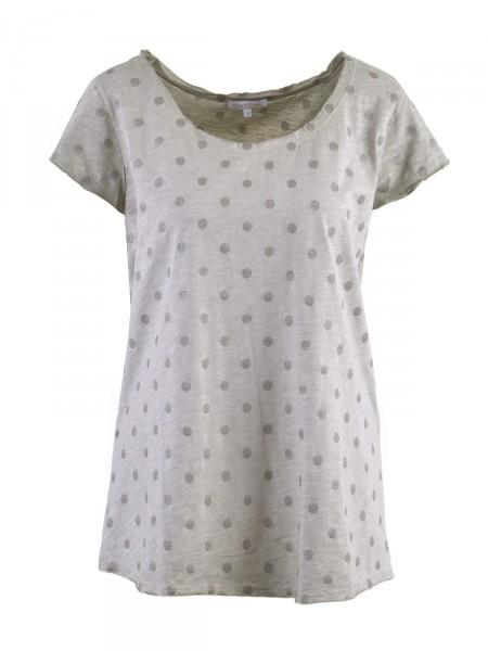 HEARTKISS Damen T-Shirt, oliv