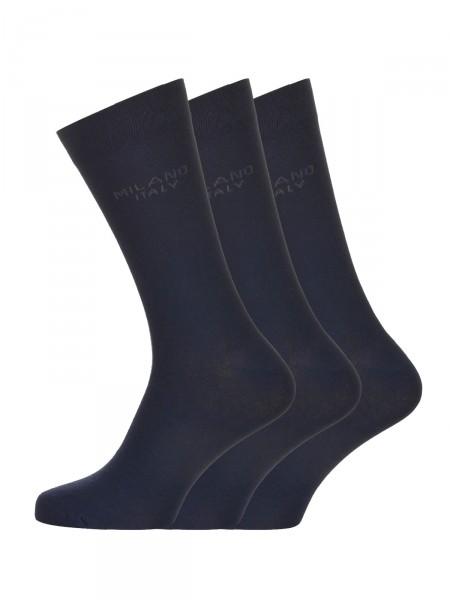 MILANO ITALY Socken im 3er Pack, navy