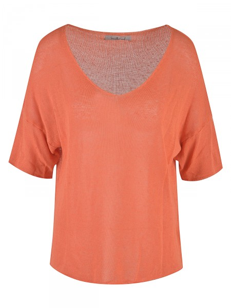 SMITH & SOUL Damen Strickshirt, orange
