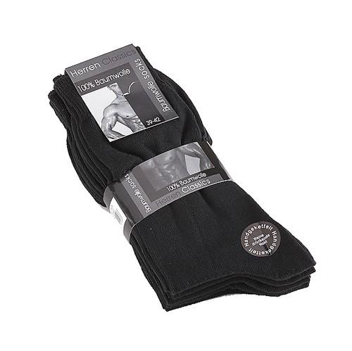 """HERREN CLASSICS 5er-Pack Socken """"70094"""", schwarz"""