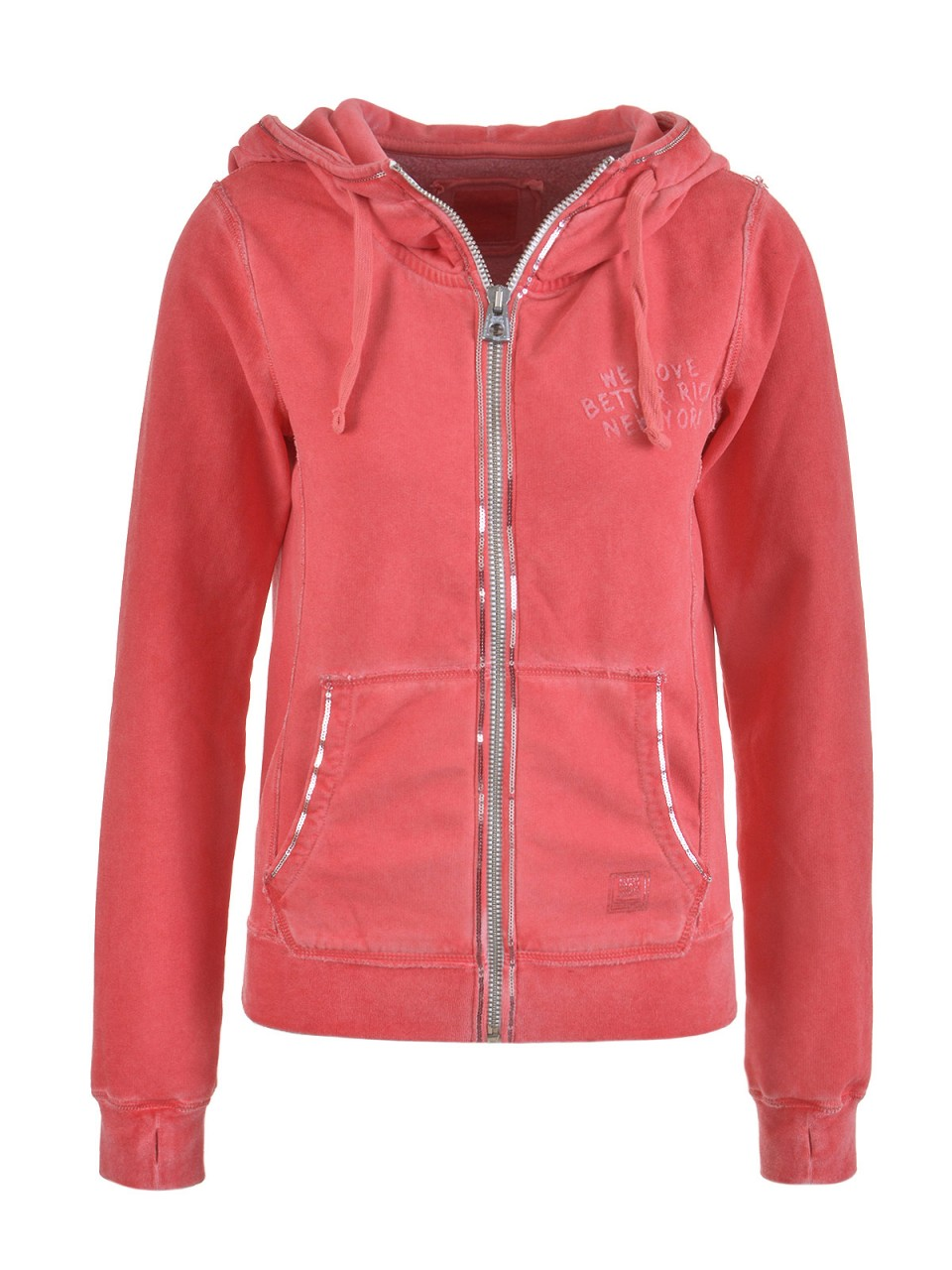 better-rich-damen-sweatjacke-rot