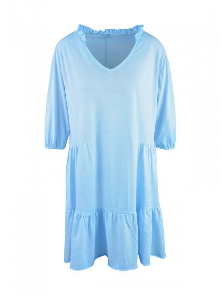 HEARTKISS Damen Kleid, neon blau