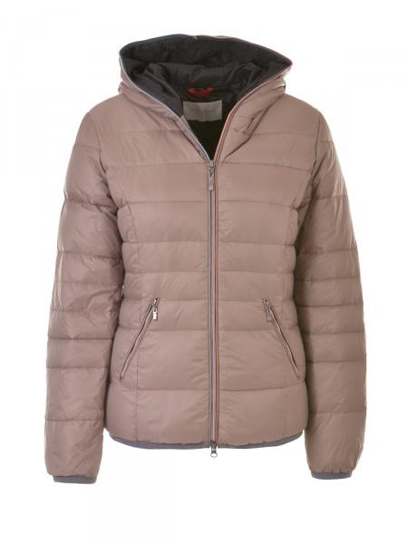 MILANO ITALY Damen Winter Jacke, hellbraun