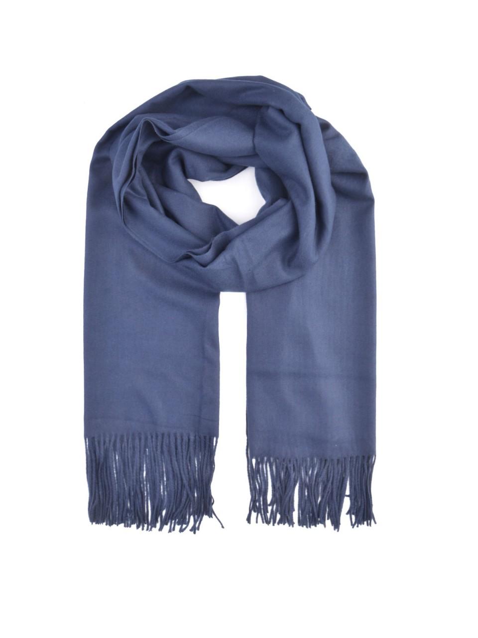 Schals - MILANO ITALY Damen Schal, dunkelblau  - Onlineshop Designermode.com