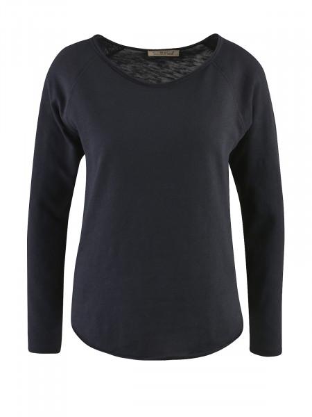 SMITH & SOUL Damen Langarmshirt, schwarz