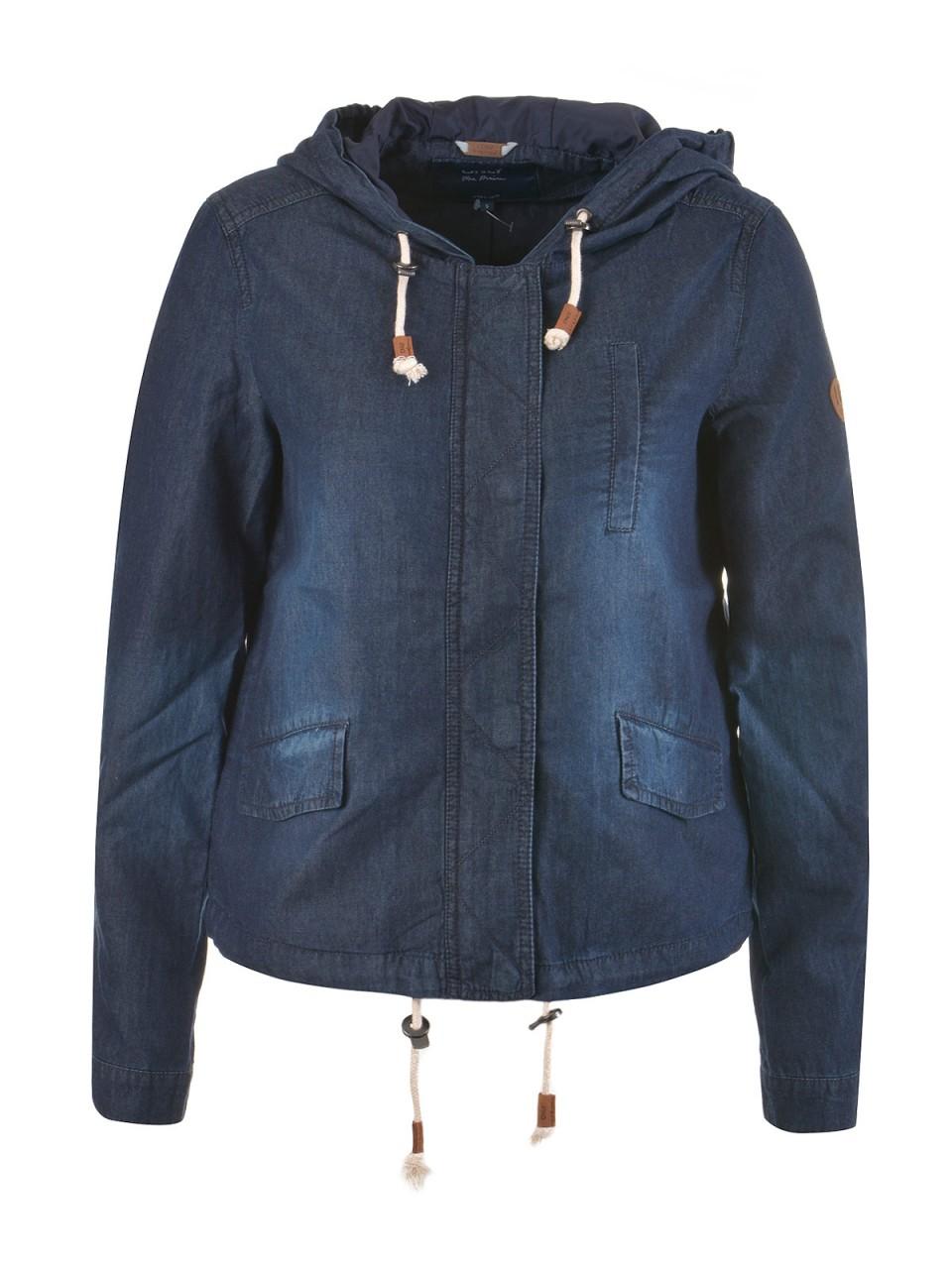only-damen-jeansjacke-skylar-dunkelblau, 35.95 EUR @ designermode-com-mode