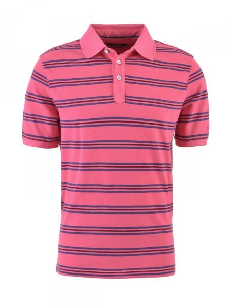 BUGATTI Herren Poloshirt, pink
