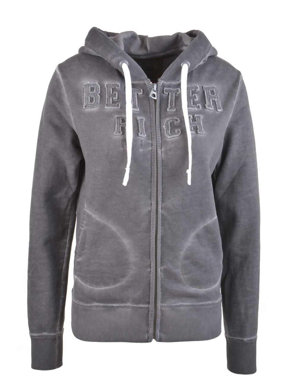 better-rich-damen-sweatjacke-anthrazit