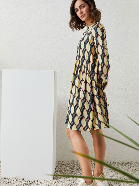MILANO ITALY Damen Kleid, petrol