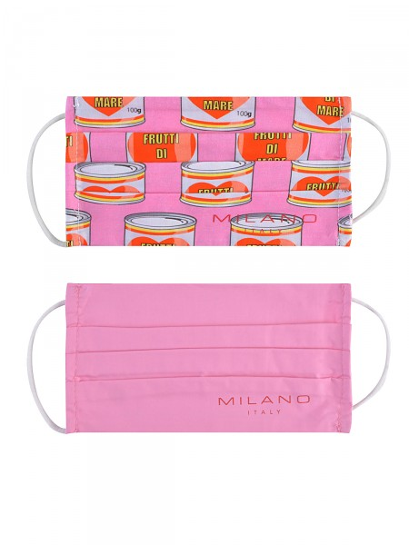 2 Pack Gesichtsmaske aus Stoff, rosa